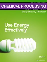 Use Energy Effectively - Chemical Processing