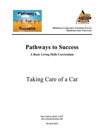 Taking Care of a Car - Oklahoma State University
