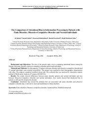 دانلود مقاله - مجله پزشکی دانشگاه علوم پزشکی تبریز
