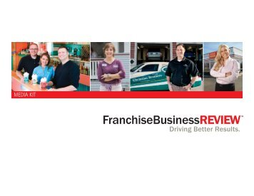 Franchise Business Review - MEDIA KIT