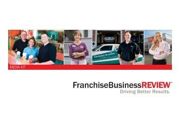Franchise Business Review - MEDIA KIT