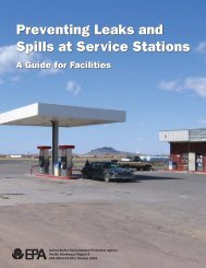 Preventing Leaks And Spills At Service Stations - US Environmental ...