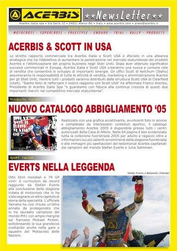 Acerbis Newsletter 10_04 it.indd