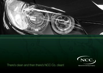 There's clean and then there's NCC Co. clean! - National Car Cleaning