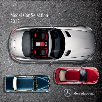 Model Car Selection 2012 - Boutique Mercedes-Benz