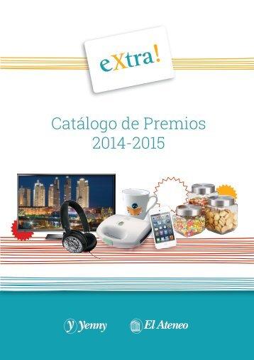 Catálogo de Premios 2014-2015
