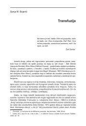 Transfuzija - komunikacija