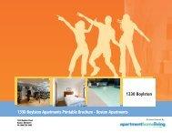 1330 Boylston Apartments Printable Brochure - Boston Apartments