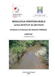Studija o utjecaju na okoliš i prirodu
