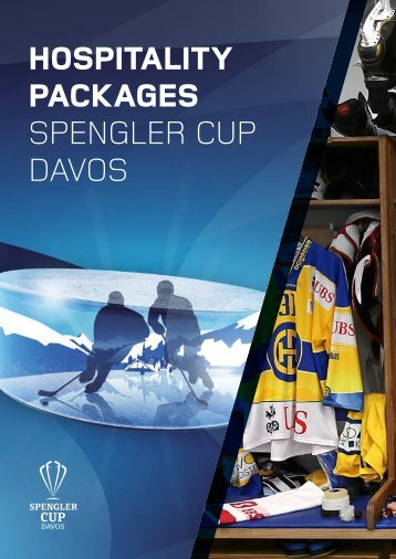 HOSPITALITY PACKAGES SPENGLER CUP DAVOS