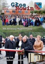 Głos Nowin październik 2012 - Urząd Gminy Sitkówka-Nowiny