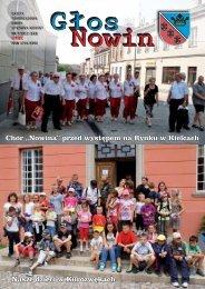 Głos Nowin lipiec 2012 - Urząd Gminy Sitkówka-Nowiny