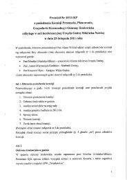Protokół Nr 15/11/KP z dnia 23 listopada 2011 r. - BIP Gminy ...
