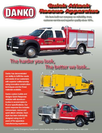 Quick Attack Brochure - Danko Emergency Equipment Co.
