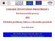problémy - Masaryk University