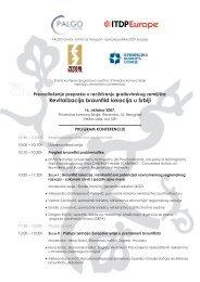 agendu konferencije - PALGO centar
