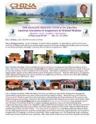 View An Example Itinerary - RegentTravelandTours.com