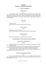 Ovde možete preuzeti tekst Modela zakona - PALGO centar