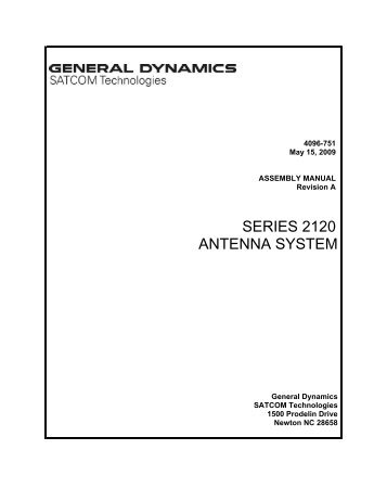 4096-751 - General Dynamics SATCOM Technologies