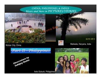Part II - Philippines - ROW Foundation