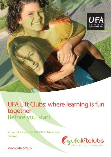 UFA Franchise Brochure [PDF] - University of the First Age