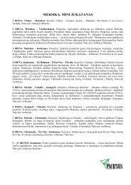 MEKSIKA. MINI JUKATANAS - Excursus