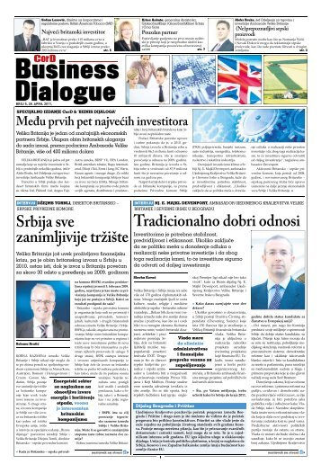 Tradicionalno dobri odnosi Srbija sve - alliance international media