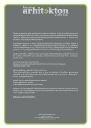 advertising kit arhitekton.cdr