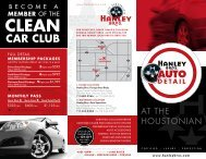 clean car club - Hanley Brothers Auto Specialists