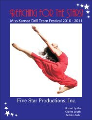2010 MK Registration Packet-10-9-09.cdr - Five Star Productions