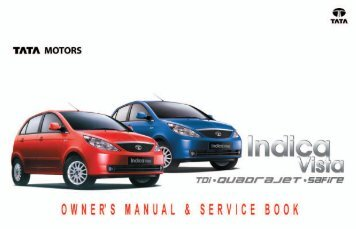 tata indica v2 owner s manual service book tata motors rh yumpu com Tata Nano tata indica dls service manual