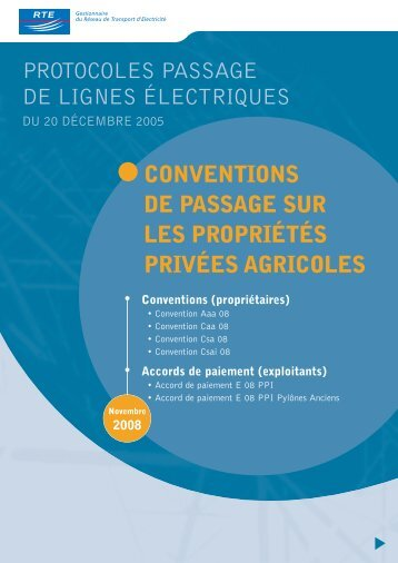 Conventions - RTE