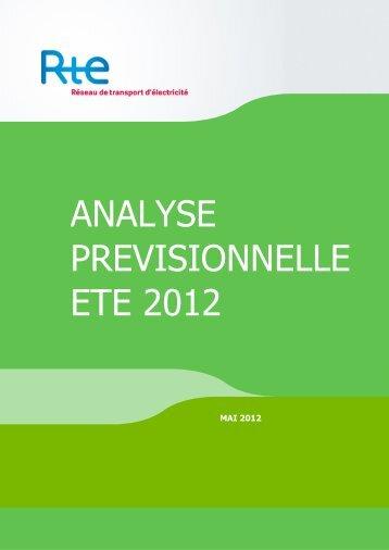 Consulter l'analyse en PDF - RTE