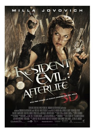 Scarica il pressbook completo di Resident Evil: Afterlife - Mymovies.it