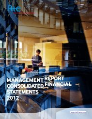 2012 Management report consolidated financial statements - RTE