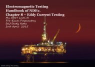Electromagnetic Testing Handbook of NDEv. Chapter 8 – Eddy Current Testing