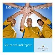 Šport v središču Slovenije - Karate zveza Slovenije
