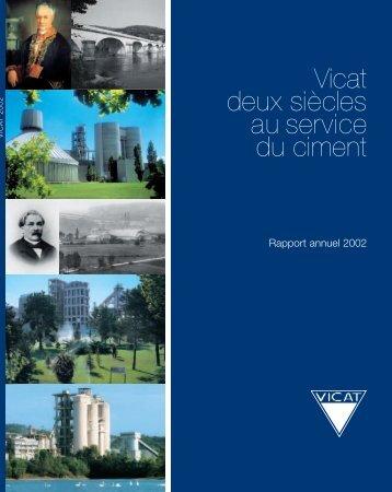 Rapport annuel - Vicat