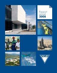 Rapport annuel 2008 - Vicat