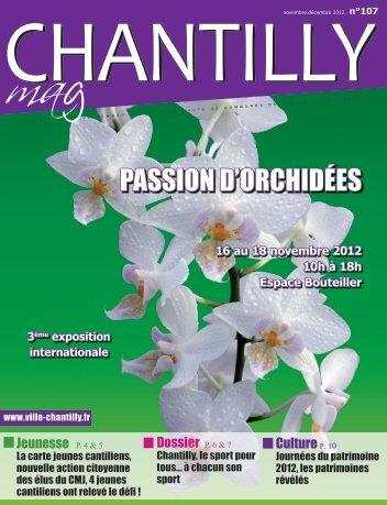 Passion D'orChiDées - Ville de Chantilly