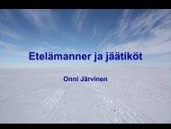 Etelämanner - Helsinki.fi