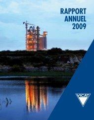 RAPPORT ANNUEL 2009 - Vicat