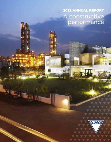 A constructive performance - Vicat Group
