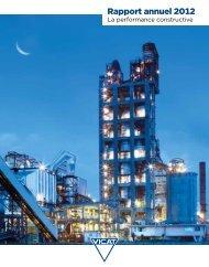Rapport annuel 2012 - Vicat