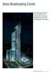 Seoul Broadcasting Centre (PDF, 89 KB)