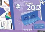 Carte de voeux pour la bonne année 2012 - XICA loisirs
