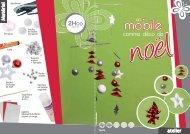 Un mobile comme décoration de Noel - XICA loisirs