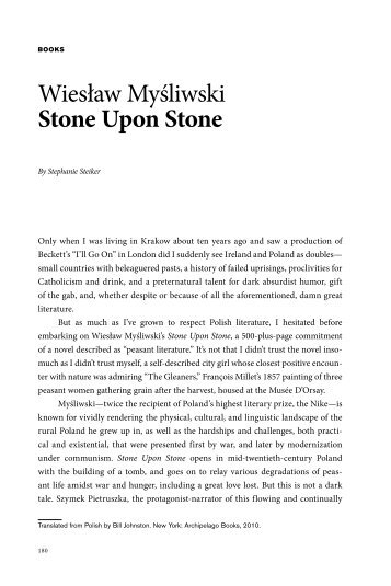 Review by Stephanie Steiker - Znak Rights