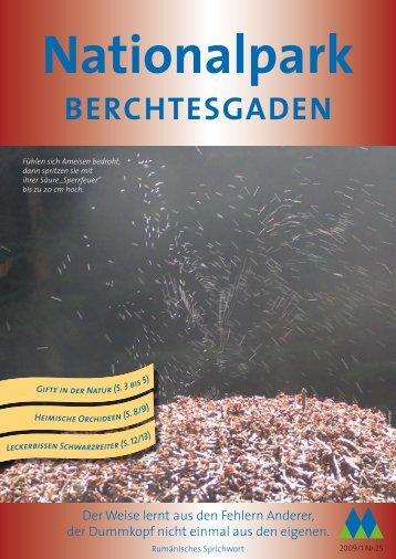 Nationalparkzeitung Nr. 25 - Nationalpark Berchtesgaden