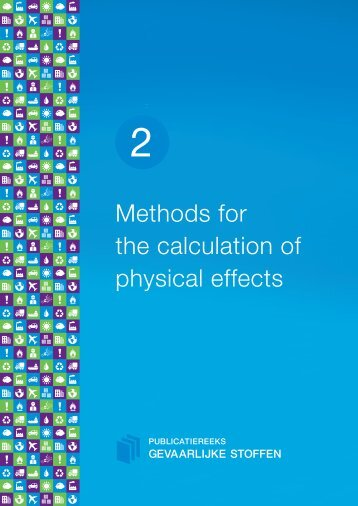 Methods for calculation of physical effects - Publicatiereeks ...